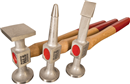 3 Pc. Aluminum Hammer Set