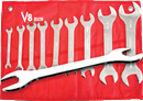V8 TOOLS 8109 9 Pc. Super Thin Wrench Set
