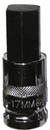 "VIM/DURSTON MFG HM-17MM 17mm Hex Bit, 1/2"" Sq. Dr. Bit Holder"