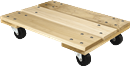 WHITESIDE WD18X24 Heavy-Duty Hardwood Dolly