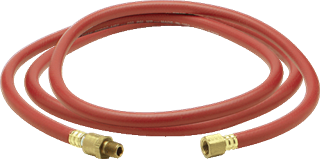 "AMFLO PRODUCTS 25L-60BD Lead-In & Whip Hose - 1/4"" x 60"""