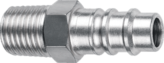 "AMFLO PRODUCTS CP91 Male 1/4"" Hi Vol Plug"