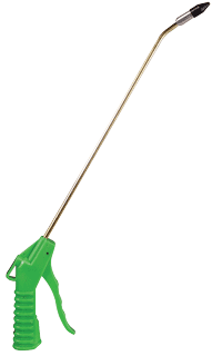 "ASTRO PNEUMATIC 1715 13"" Green Angle Blowgun with 1/2"" Removable Rubber Tip"