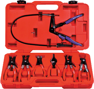 ASTRO PNEUMATIC 9406 7 Pc. Hose Clamp Pliers Set