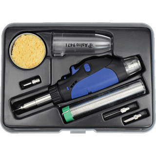ASTRO PNEUMATIC 9473 8 Pc. Butane Micro Pencil Soldering Iron Torch Kit