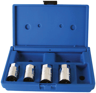 ASSENMACHER 201 4 Pc. Stud Removal Socket Set