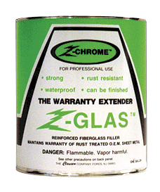 CLAUSEN ZGF-2 Clausen Z-Chrome Z-Glas - Gallon