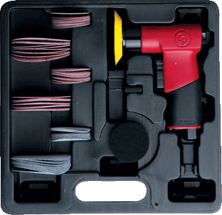 CHICAGO PNEU. 7200S Mini Orbital Sander Kit