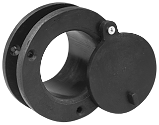 CRUSHPROOF TUBE DF25 Rubber Door Port, 2-1/2""