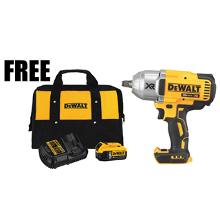 "DEWALT DCF899HBXP 20V MAX* XR Brushless High Torque 1/2"" Impact Wrench, Bare Tool"