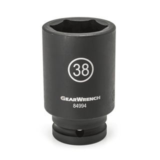 "GEARWRENCH 84992 3/4"" Dr. 6 Pt. Deep Impact Socket, 35mm"