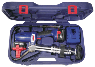 LINCOLN 1444 PowerLuber® 14.4-Volt Grease Gun - With Two Batteries