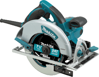 MAKITA U.S.A. 5007MG 7-1/4 MAGNESIUM CIRC SAW