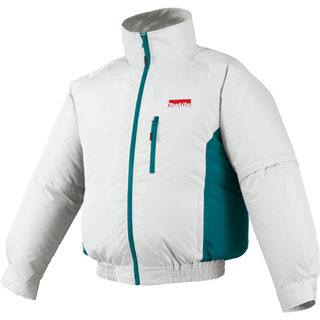 MAKITA DFJ201ZM 18V LXT® Lithium-Ion Cordless Fan Jacket, Jacket Only (Medium)