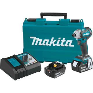 MAKITA XDT12T 18V LXT® Lithium-Ion Brushless Cordless Quick-Shift Mode™ 4-Speed Impact Driver Kit (5.0Ah)