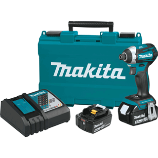MAKITA XDT14T 18V LXT® Lithium-Ion Brushless Cordless Quick-Shift Mode™ 3-Speed Impact Driver Kit (5.0Ah)