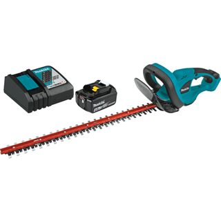 "MAKITA XHU02M1 18V LXT® Lithium-Ion Cordless 22"" Hedge Trimmer Kit (4.0Ah)"