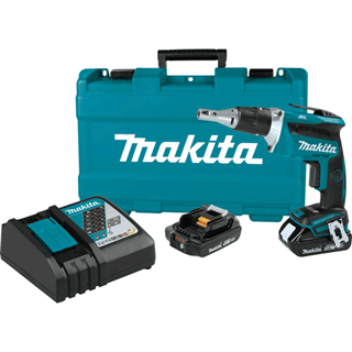 MAKITA XSF03R 18V LXT® Lithium-Ion Compact Brushless Cordless 4,000 RPM Drywall Screwdriver Kit (2.0Ah)