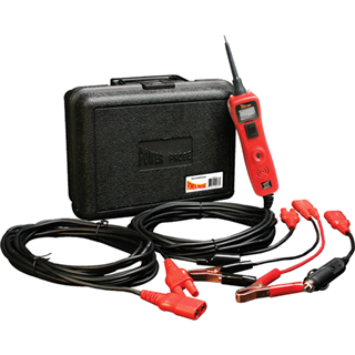 POWER PROBE 319FTC-RED Power Probe III with Case & Accessories, Red